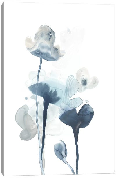 Midnight Blossoms IV Canvas Art Print