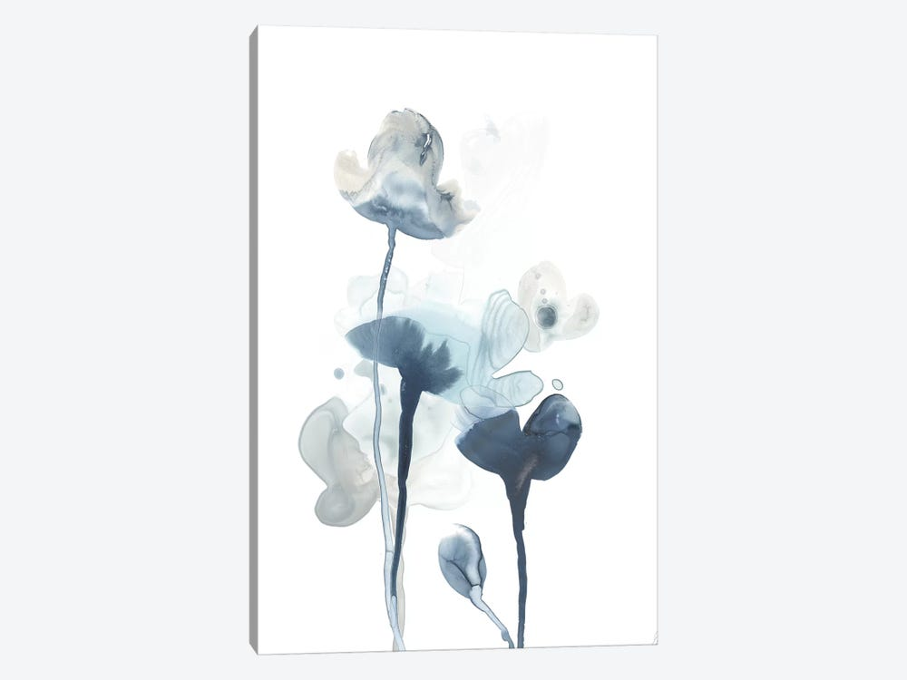 Midnight Blossoms IV by June Erica Vess 1-piece Canvas Wall Art