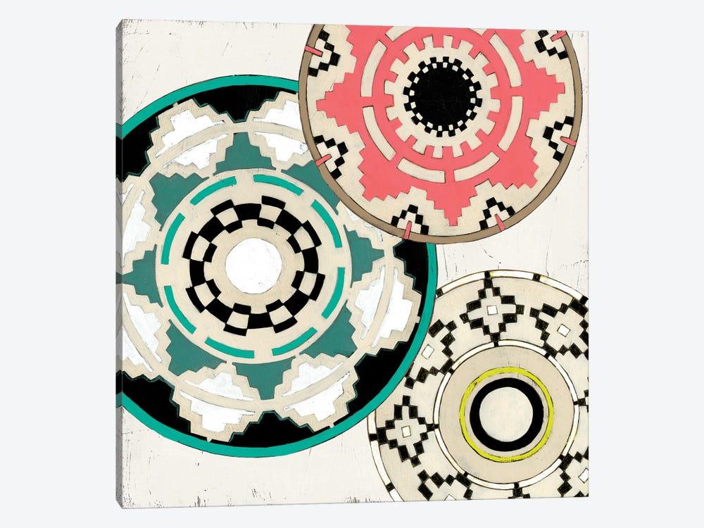 Modern Baskets III by June Erica Vess 1-piece Canvas Art Print