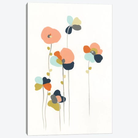 Modular Bouquet I Canvas Print #JEV1105} by June Erica Vess Canvas Print