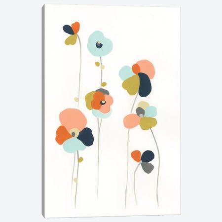 Modular Bouquet III Canvas Print #JEV1107} by June Erica Vess Canvas Print