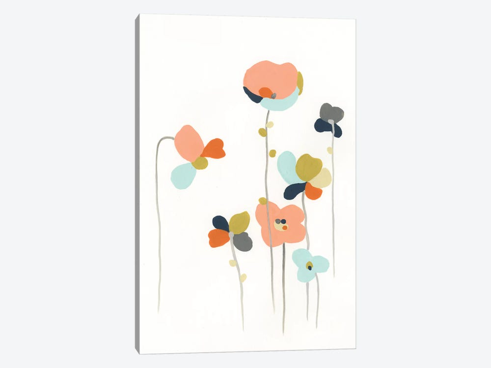 Modular Bouquet IV by June Erica Vess 1-piece Canvas Wall Art