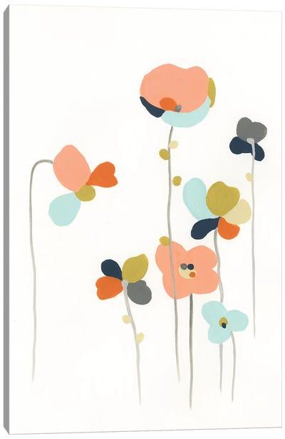 Modular Bouquet IV Canvas Art Print