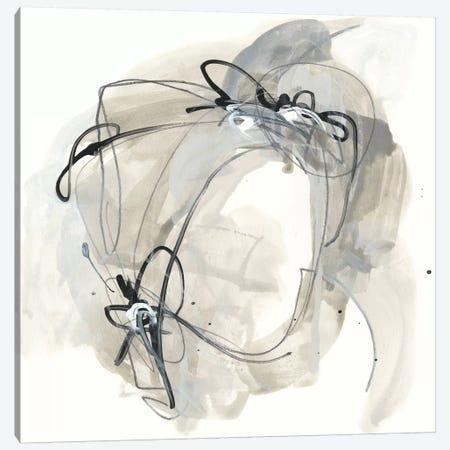 Monochrome Diaspora III Canvas Print #JEV1111} by June Erica Vess Canvas Art Print