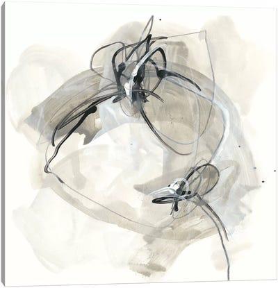 Monochrome Diaspora IV Canvas Art Print
