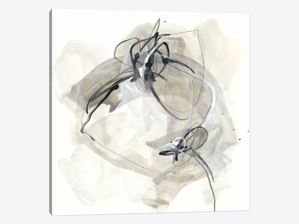 Monochrome Diaspora IV by June Erica Vess 1-piece Canvas Print