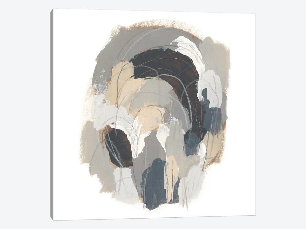 Neutral Vortex I by June Erica Vess 1-piece Canvas Art