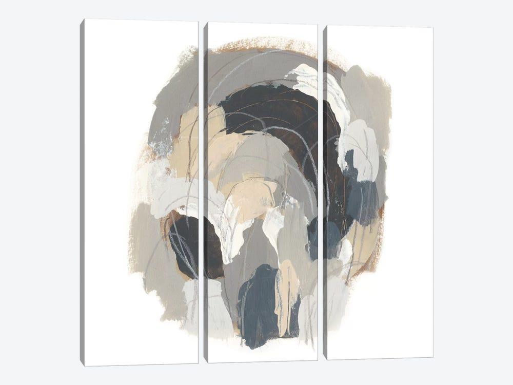 Neutral Vortex I by June Erica Vess 3-piece Canvas Art