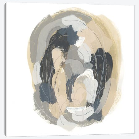 Neutral Vortex II Canvas Print #JEV1116} by June Erica Vess Canvas Art