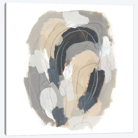 Neutral Vortex III Canvas Print #JEV1117} by June Erica Vess Canvas Wall Art