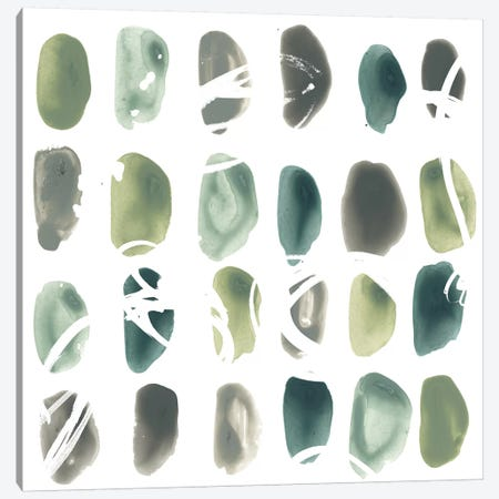 Rune Stone II 3-Piece Canvas #JEV1136} by June Erica Vess Canvas Wall Art