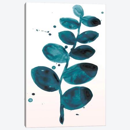 Stems In Indigo I Canvas Print #JEV1139} by June Erica Vess Art Print