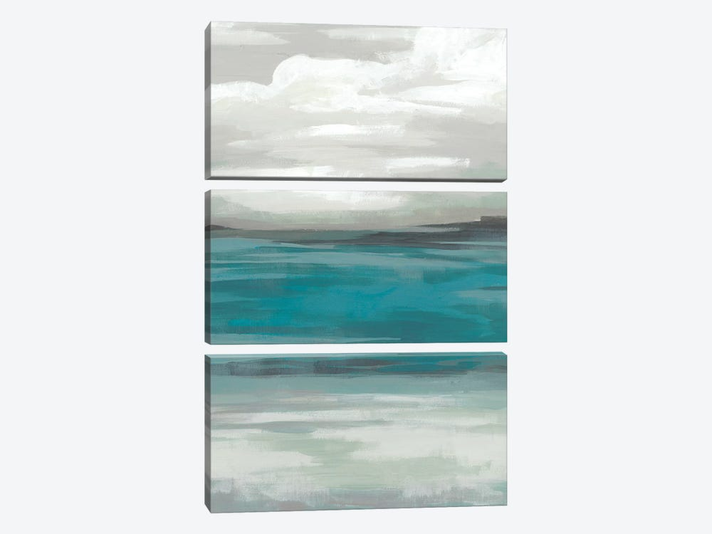 Storm Front I by June Erica Vess 3-piece Canvas Print