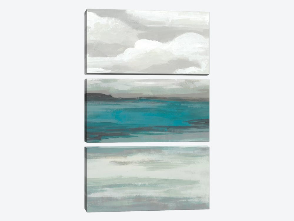 Storm Front II by June Erica Vess 3-piece Canvas Art