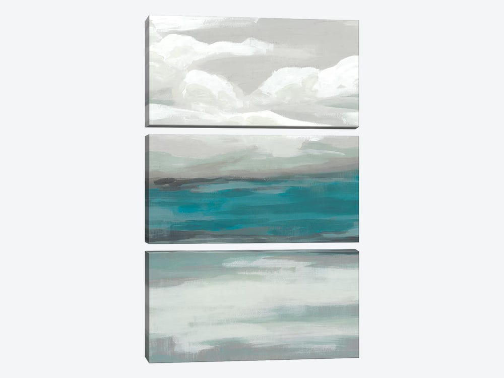 Storm Front III by June Erica Vess 3-piece Canvas Print