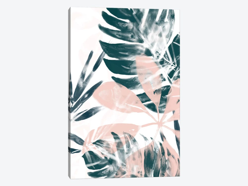 Tropical Blush II by June Erica Vess 1-piece Canvas Artwork