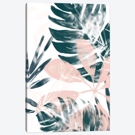 Tropical Blush II 3-Piece Canvas #JEV1155} by June Erica Vess Canvas Wall Art
