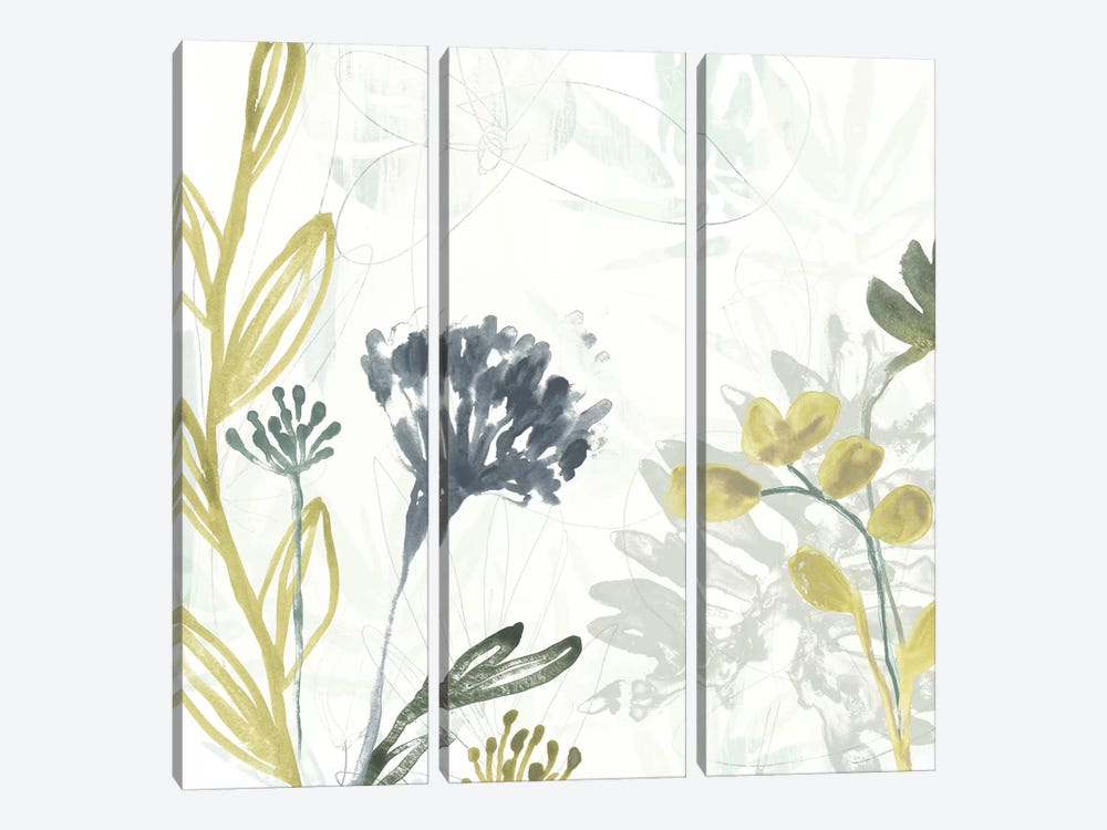 Tropical Stems II by June Erica Vess 3-piece Canvas Art