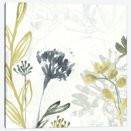 Tropical Stems II 3-Piece Canvas #JEV1157} by June Erica Vess Canvas Wall Art