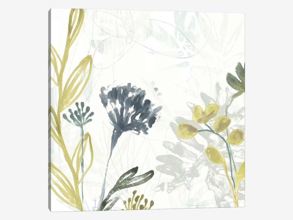 Tropical Stems II by June Erica Vess 1-piece Canvas Wall Art