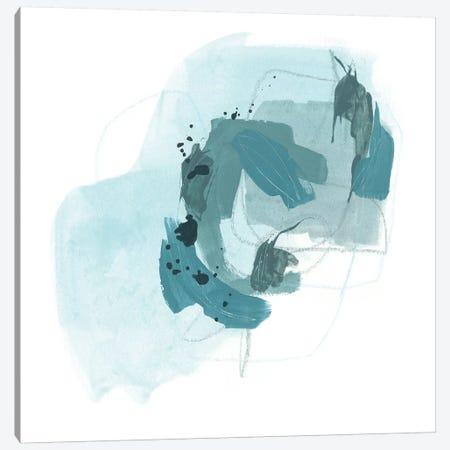 Aqua Stellar II Canvas Print #JEV1159} by June Erica Vess Canvas Print