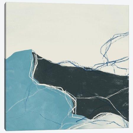 Blue Peaks II 3-Piece Canvas #JEV1184} by June Erica Vess Art Print