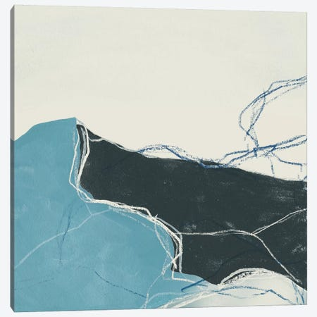 Blue Peaks II Canvas Print #JEV1184} by June Erica Vess Art Print