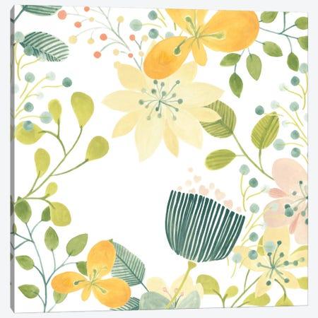 Garden Galore III Canvas Print #JEV121} by June Erica Vess Art Print
