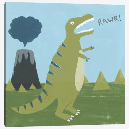 Dino-mite I Canvas Print #JEV1226} by June Erica Vess Canvas Artwork