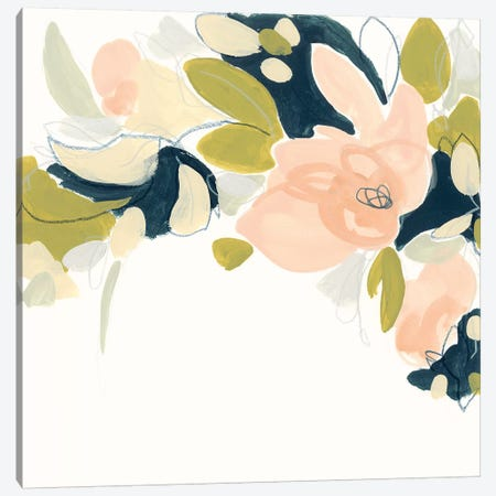 Floral Vale IV Canvas Print #JEV1231} by June Erica Vess Canvas Artwork