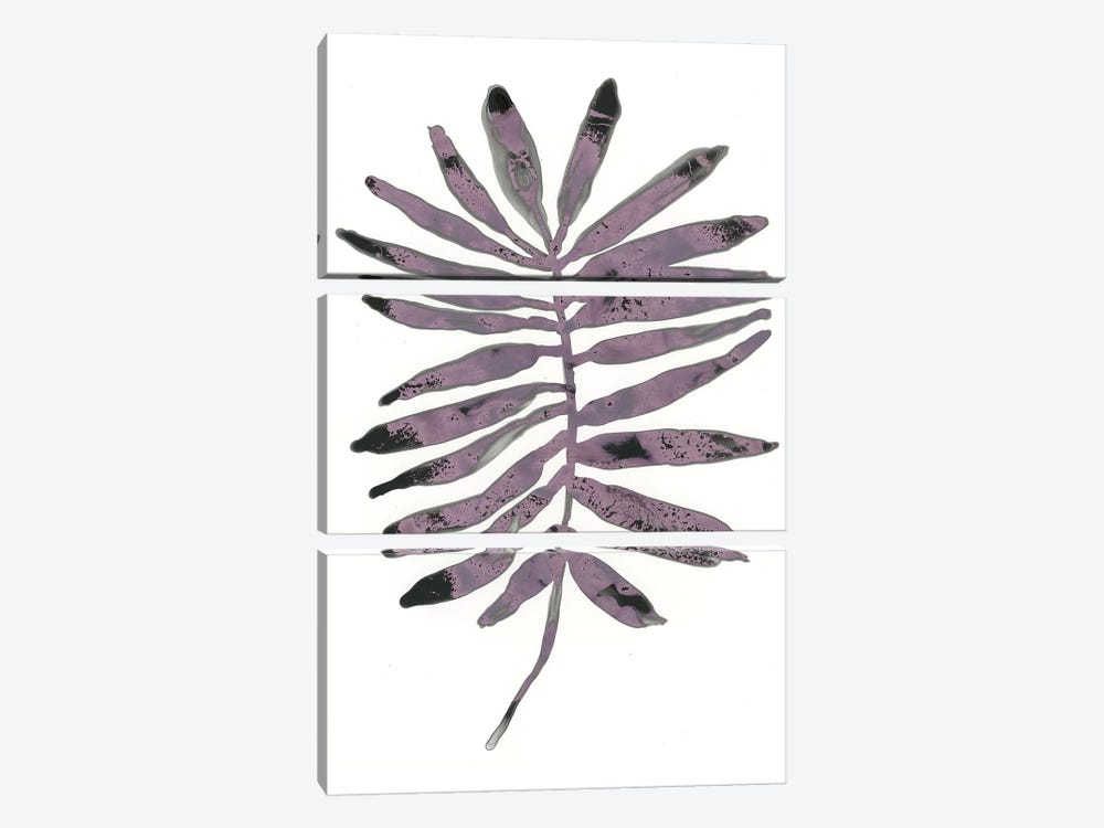 Foliage Fossil I by June Erica Vess 3-piece Canvas Print
