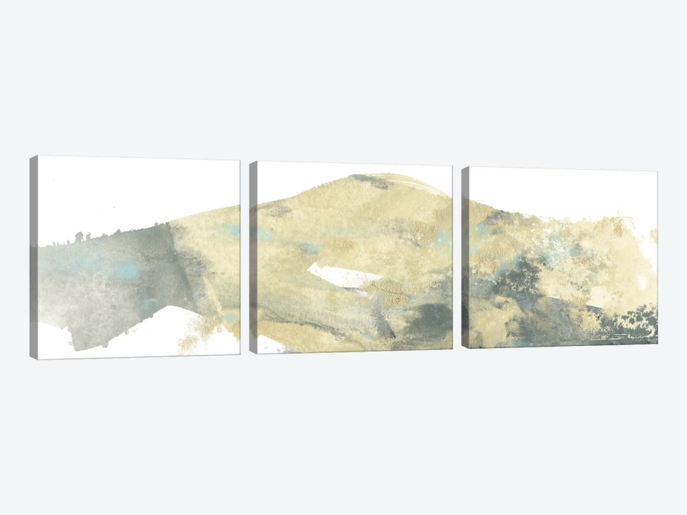 Geode Landscape I by June Erica Vess 3-piece Canvas Art