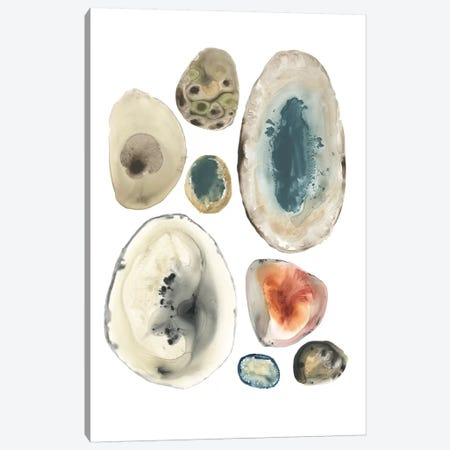 Geode Collection II Canvas Print #JEV1241} by June Erica Vess Canvas Art Print