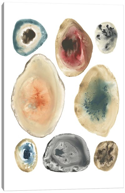 Geode Collection III Canvas Art Print