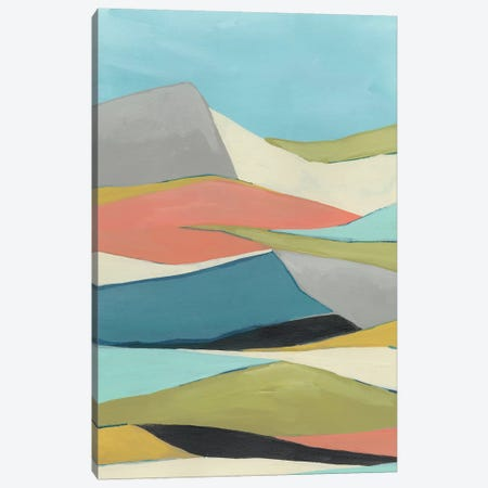 Geoscape I Canvas Print #JEV1244} by June Erica Vess Canvas Wall Art