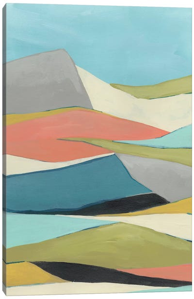 Geoscape I Canvas Art Print