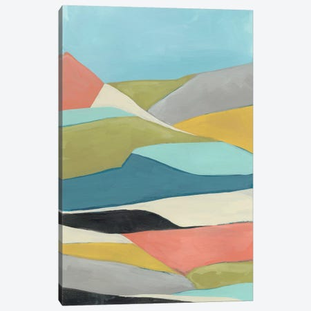 Geoscape II 3-Piece Canvas #JEV1245} by June Erica Vess Canvas Artwork