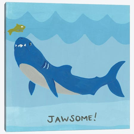 Jawesome I Canvas Print #JEV1265} by June Erica Vess Canvas Wall Art