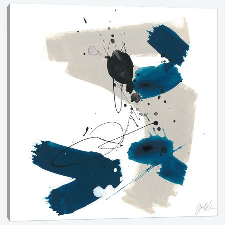 Kanji I Canvas Print #JEV1271} by June Erica Vess Canvas Wall Art