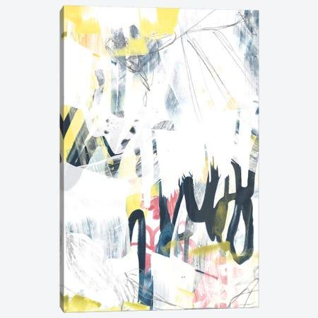 Lyrical Graffiti I 3-Piece Canvas #JEV1303} by June Erica Vess Canvas Artwork
