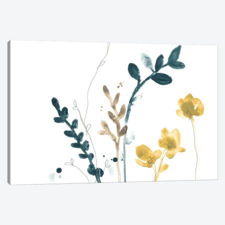 Navy Garden Inspiration VI Canvas Print #JEV1326} by June Erica Vess Canvas Print
