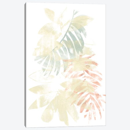 Pastel Tropics III 3-Piece Canvas #JEV1346} by June Erica Vess Canvas Print