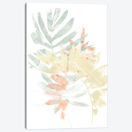 Pastel Tropics IV Canvas Print #JEV1347} by June Erica Vess Art Print
