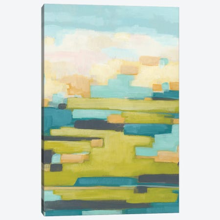 Pixel Horizon I Canvas Print #JEV1348} by June Erica Vess Canvas Wall Art
