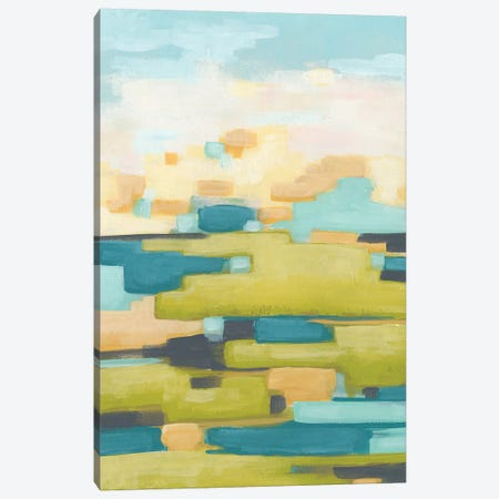 Pixel Horizon II Canvas Print #JEV1349} by June Erica Vess Canvas Artwork