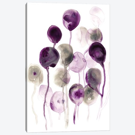 Plum Pods I Canvas Print #JEV1352} by June Erica Vess Art Print