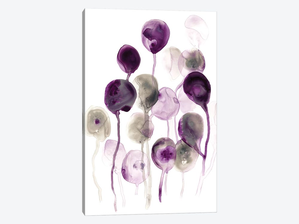 Plum Pods I by June Erica Vess 1-piece Canvas Wall Art