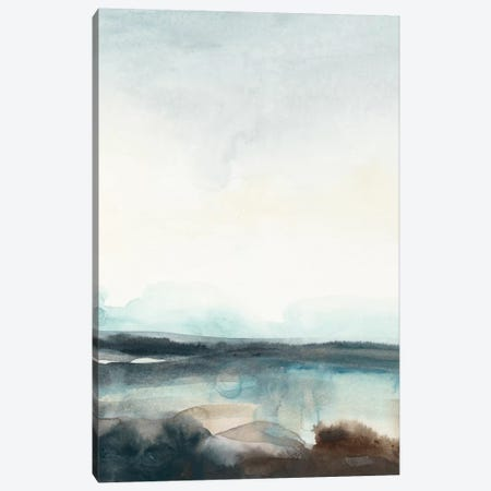 Horizon Flow I Canvas Print #JEV135} by June Erica Vess Art Print