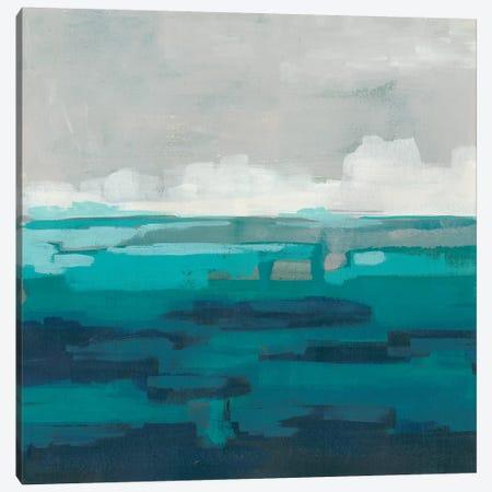 Sea Foam Vista I Canvas Print #JEV1362} by June Erica Vess Canvas Art