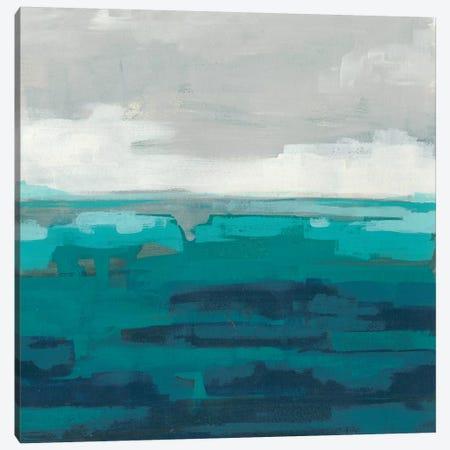 Sea Foam Vista II Canvas Print #JEV1363} by June Erica Vess Canvas Wall Art